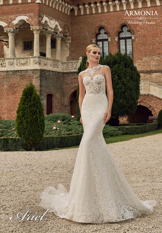 2619d43ef35 Ariel wedding dress Collection 2016 by Armonia TM
