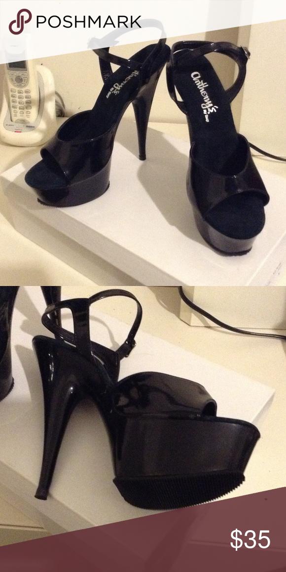 370cee9b64b Shoes Black high heels Anthony's by Tony Shoes Heels | My Posh ...