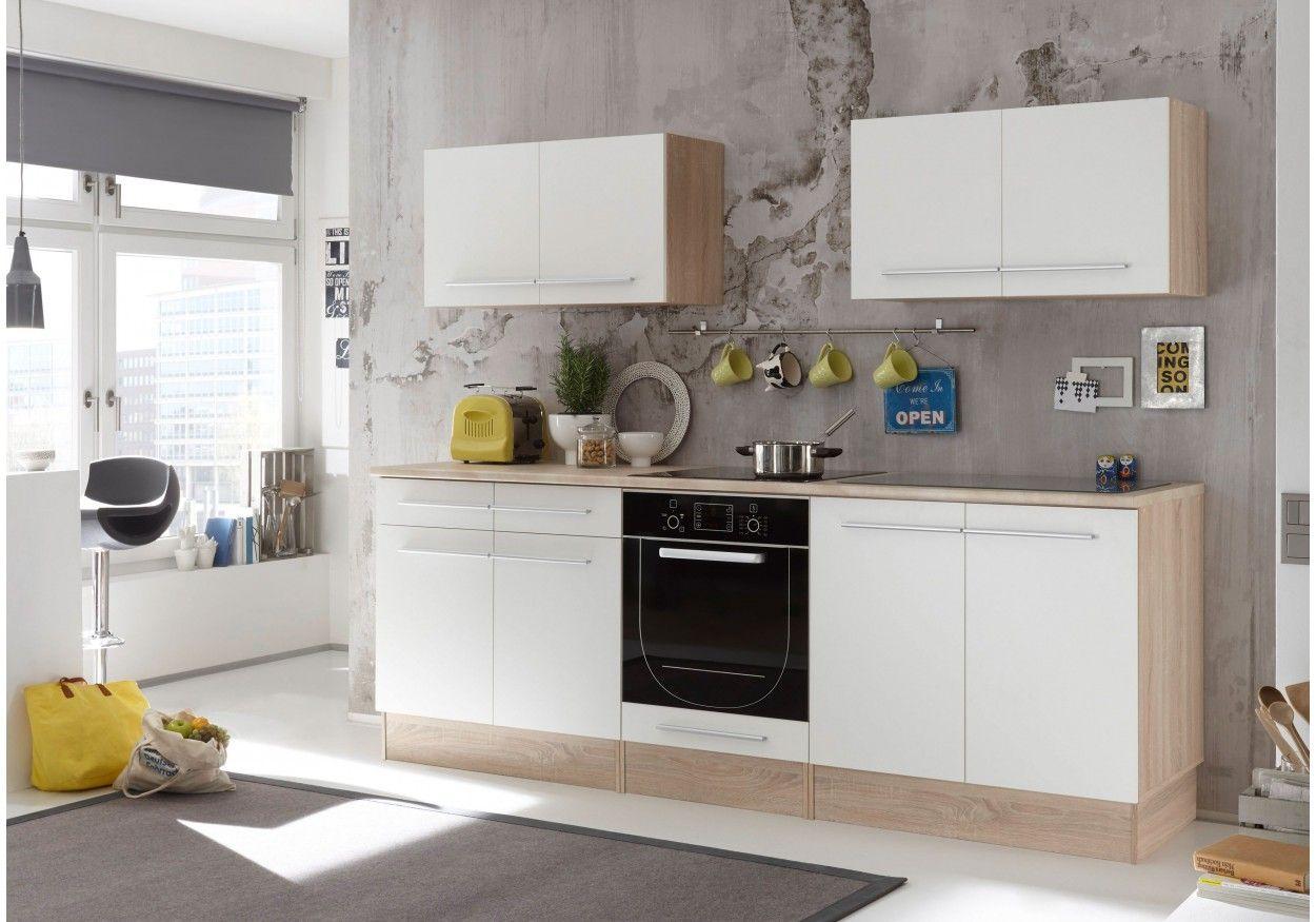 kuchenblock mit elektrogeraten, dieser küchenblock mit elektrogeräten überzeugt durch klare linien, Design ideen