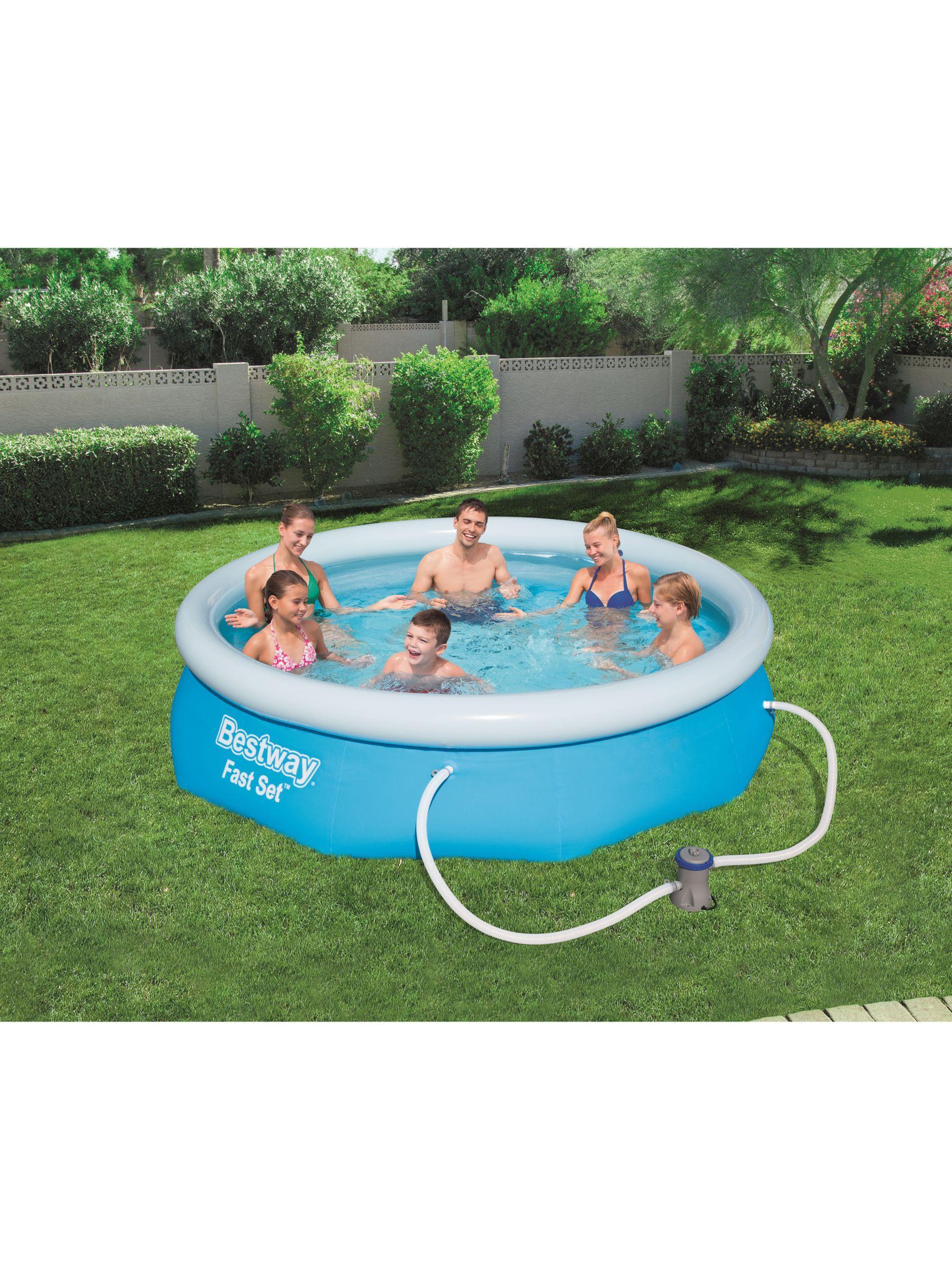 Bestway Fast Set Pool 10 X 30 Pool Family Inflatable Pool