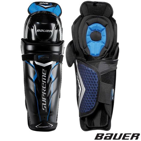 Bauer S Supreme One 8 Shin Guards Offer Great Protection In A Stylish Technical Shin Guard This Shin Guard Offers Ven Shin Guards Hockey Shin Pads Hockey Gear