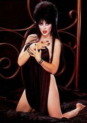 elvira naked Hot