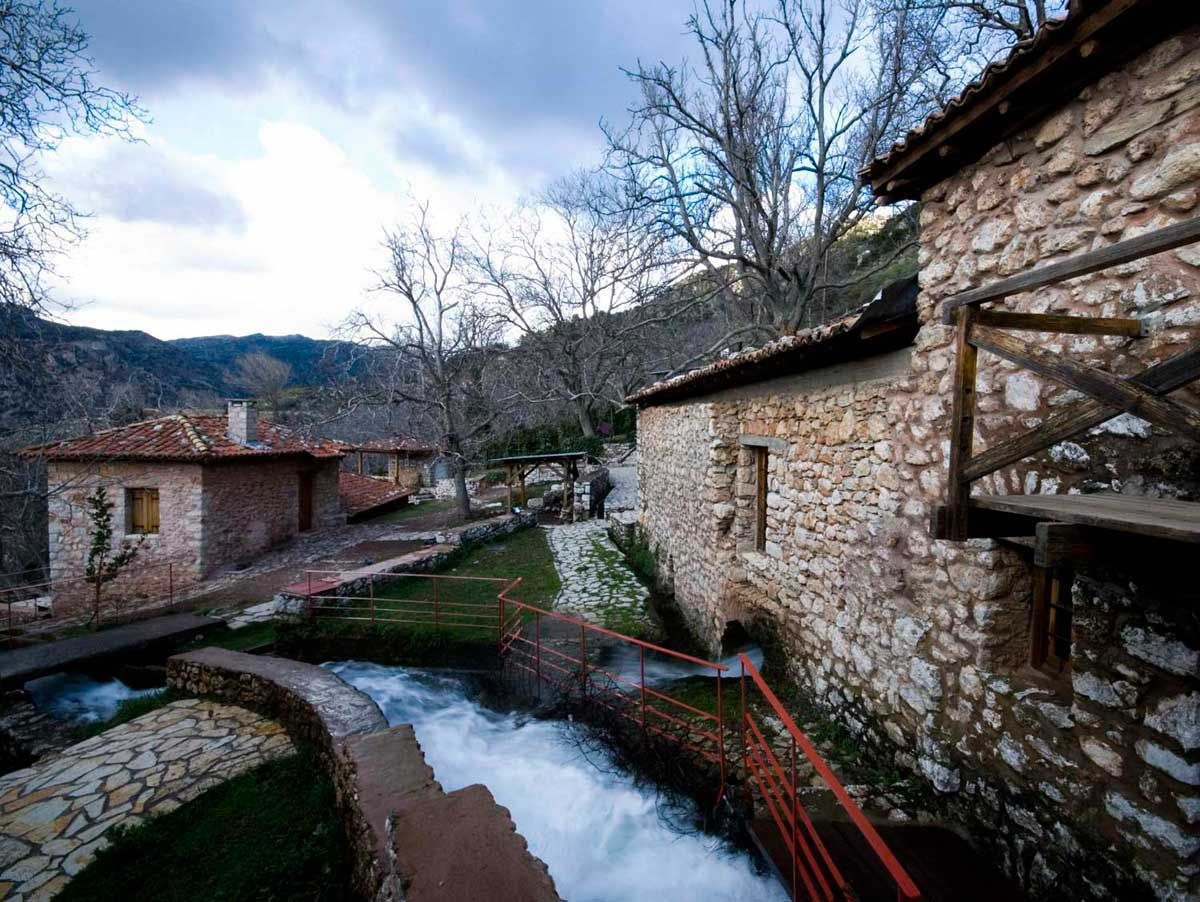 Open Air WaterPower Museum, Dimitsana village