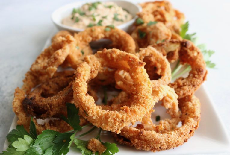 The Best Restaurant Style Onion Rings