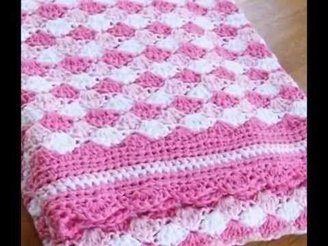Cubrecamas tejidos a crochet de beb youtube - Colchas ganchillo bebe ...