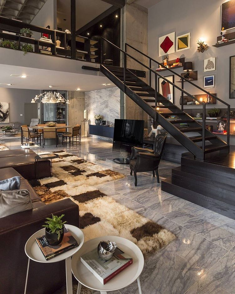 BARANDA GUARDADO - ESTANTES - Artful Loft Designed by CASAdesign ...
