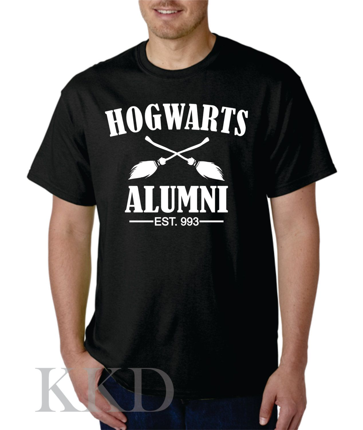 Harry Potter - Hogwarts Alumni Tee by KKDcustomized on Etsy