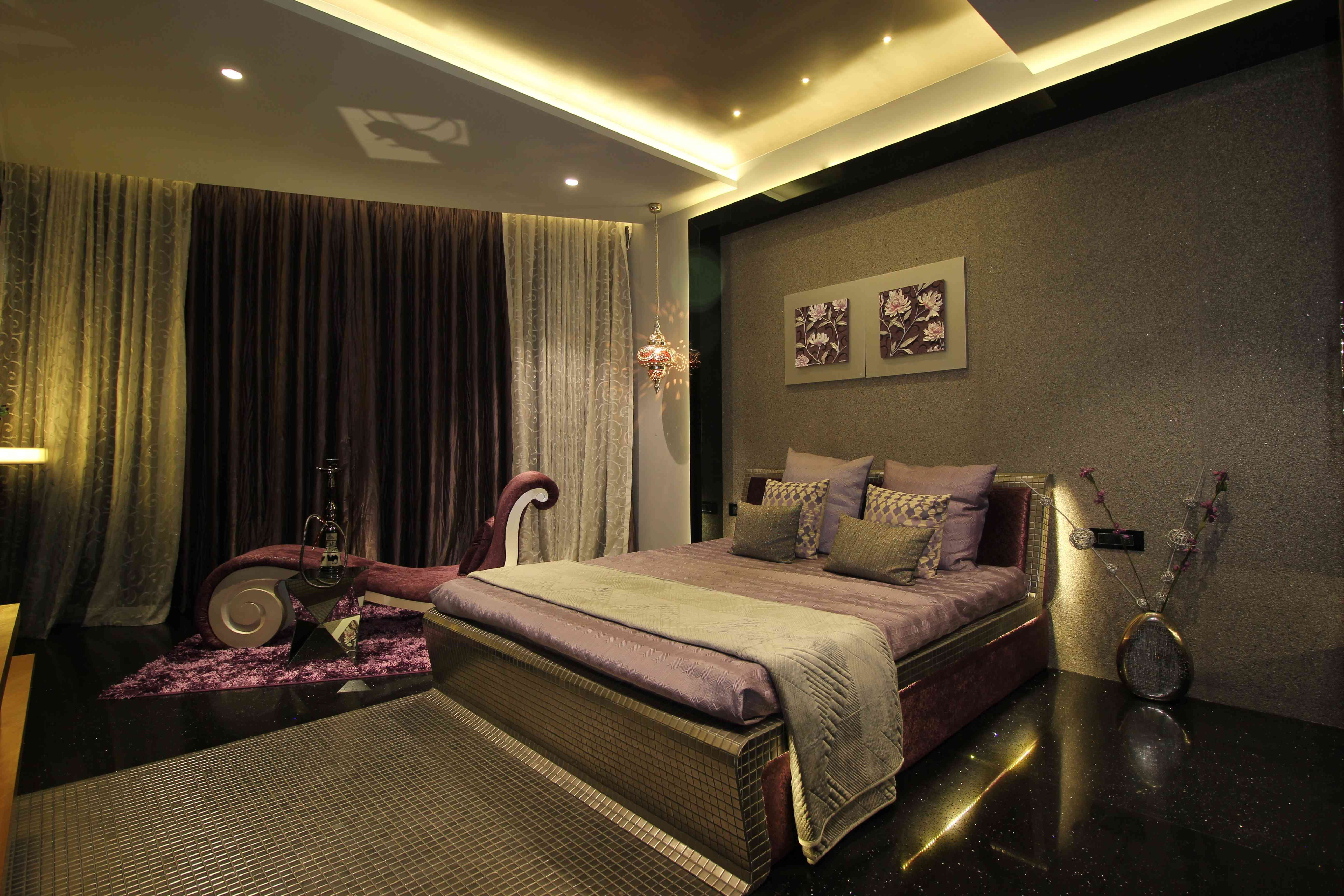Loft bed ideas for low ceiling  Design by Monika Bhatt  Bedroom Designs  Pinterest  Shell and