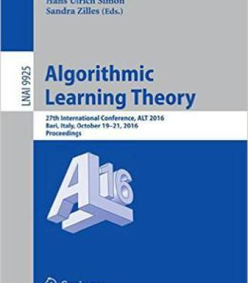 Algorithmic learning theory 27th international conference alt 2016 algorithmic learning theory 27th international conference alt 2016 pdf fandeluxe