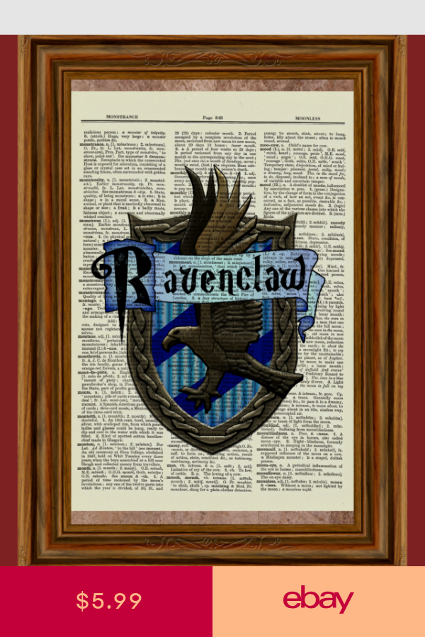 Harry Potter Collectibles Ebay Dictionary Art Print Dictionary Art Harry Potter Dictionary