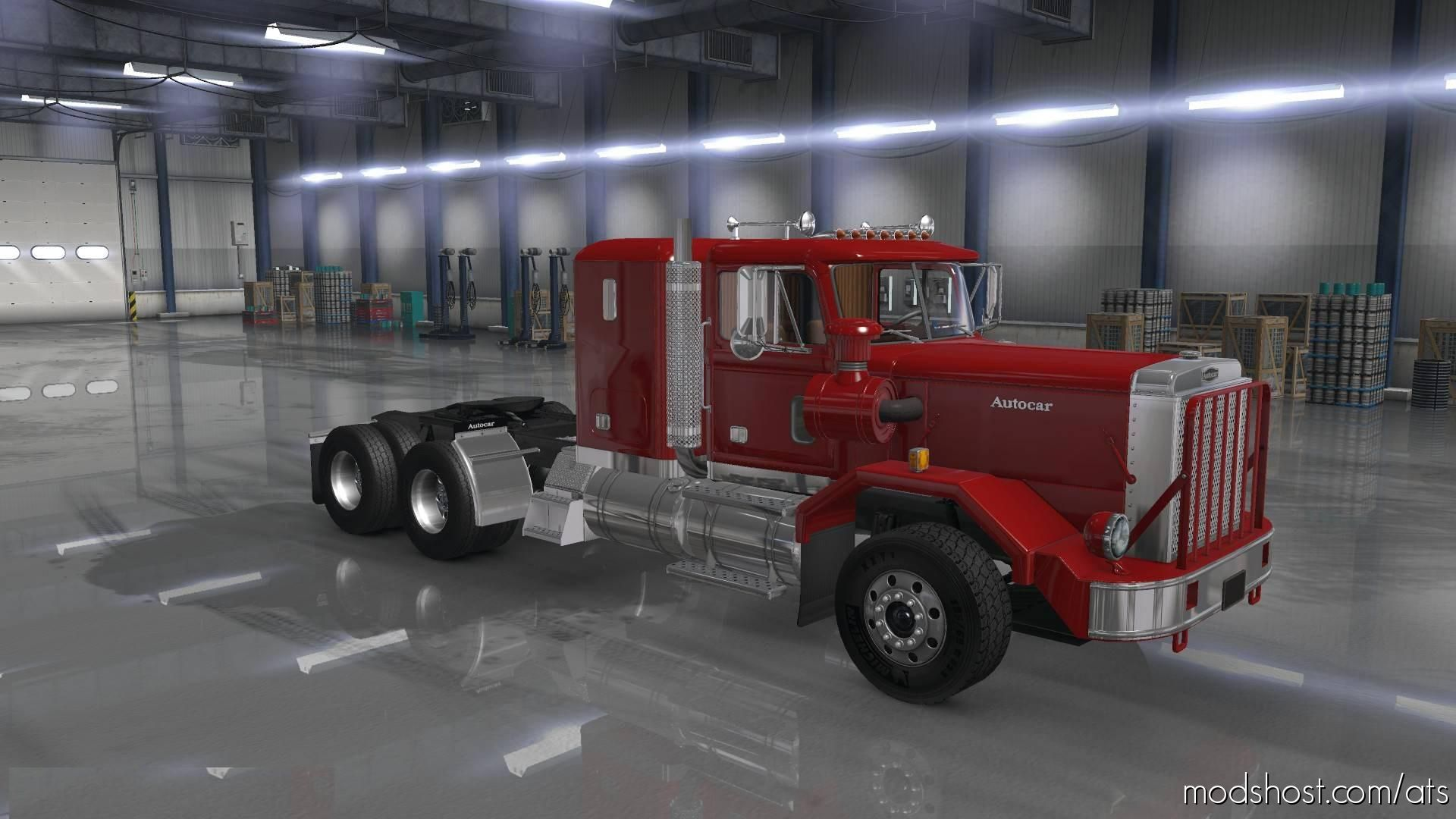 Download autocar dc mod for american truck simulator at