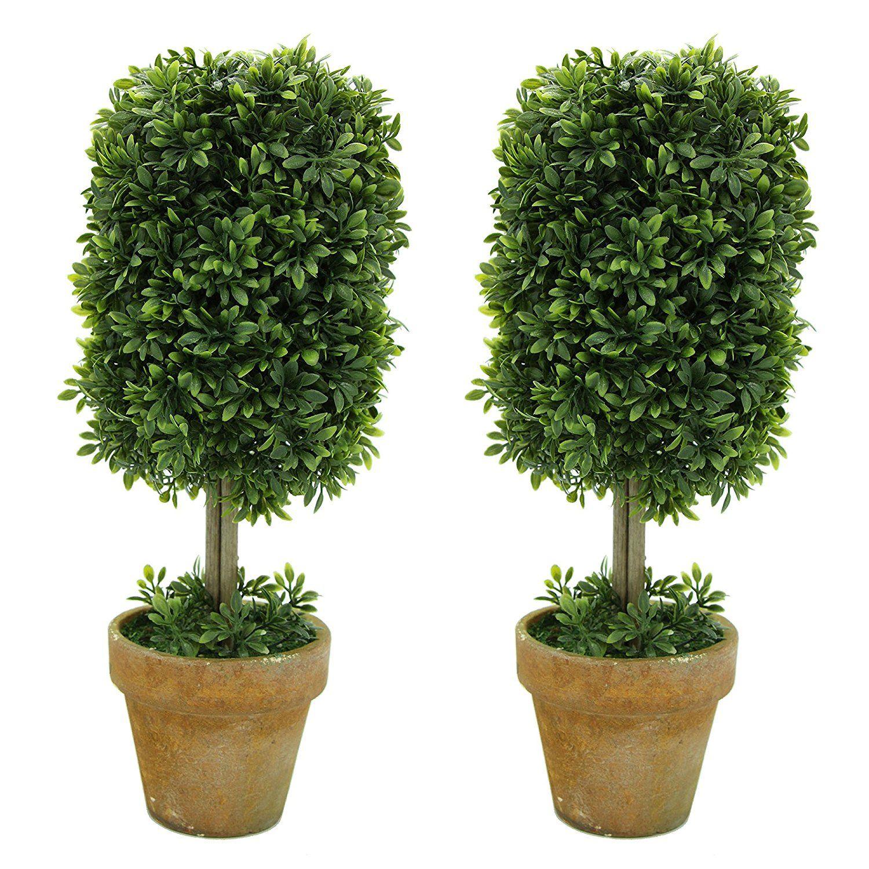 Vimi small artificial plants and mini trees decor bonsai for home