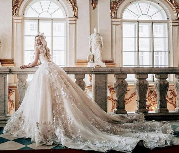 marie antoinette inspired wedding dress - brides of ...