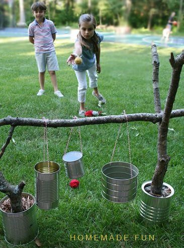 25 Recycled Tin Can Crafts and Projects | Juegos para