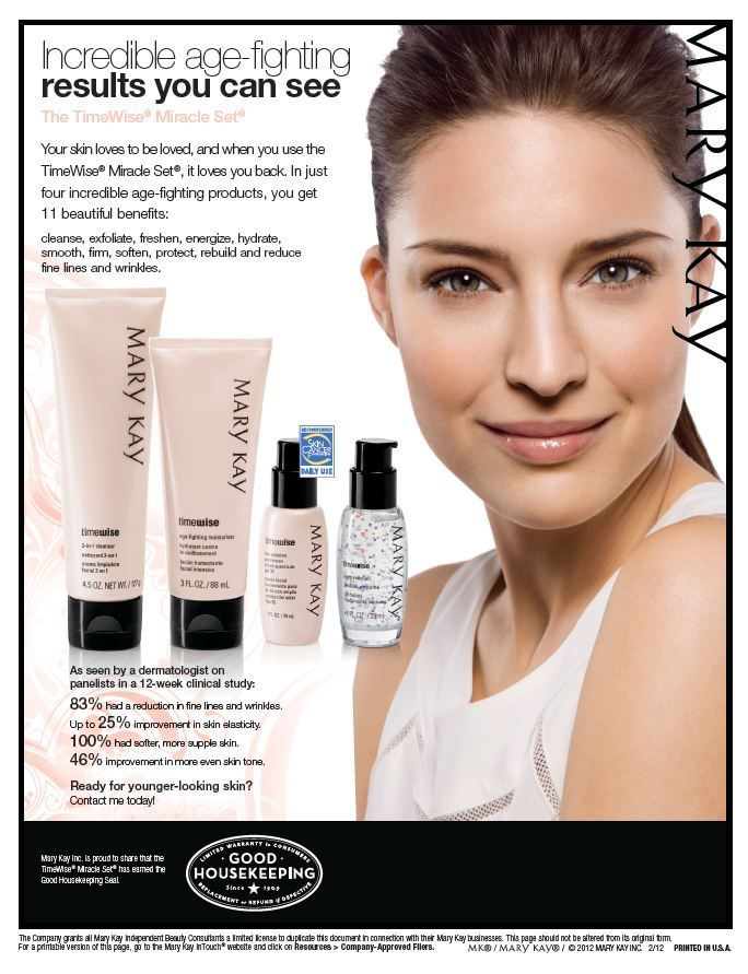 Mary Kay Anti Aging: TimeWise Miracle Set Http://www.marykay.com/heather1271/en