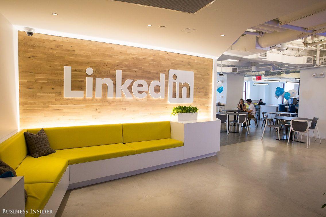 A Look Inside 23 Billion Linkedin S New York Office Where