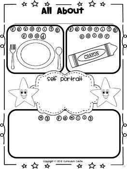 All About Me Thematic Unit: Perfect for Pre-K and K