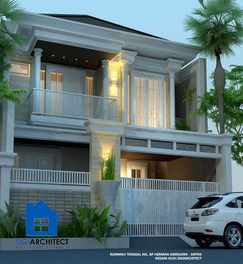 Rumah Mewah 2 Lantai Kolam Renang Privat Modern Minimalis Rumah Mewah Rumah Rumah Indah