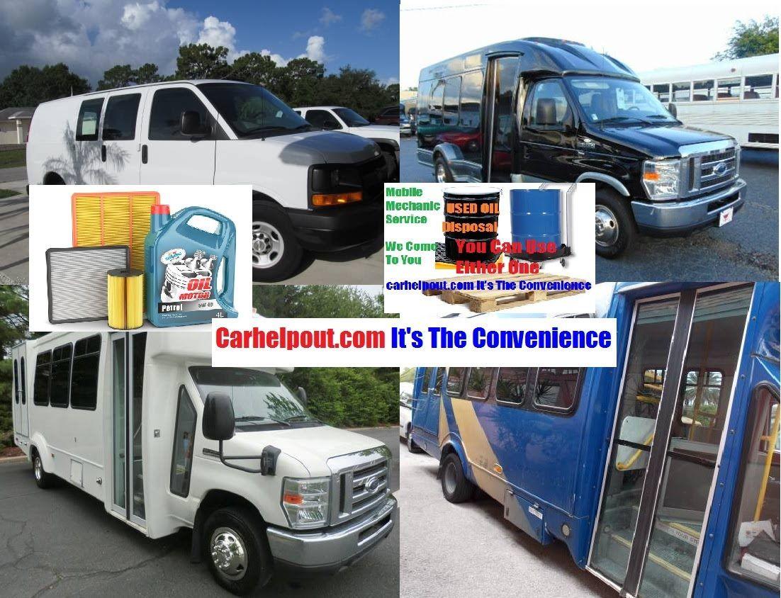 Small Business Work Van, Shuttle Bus and transit van