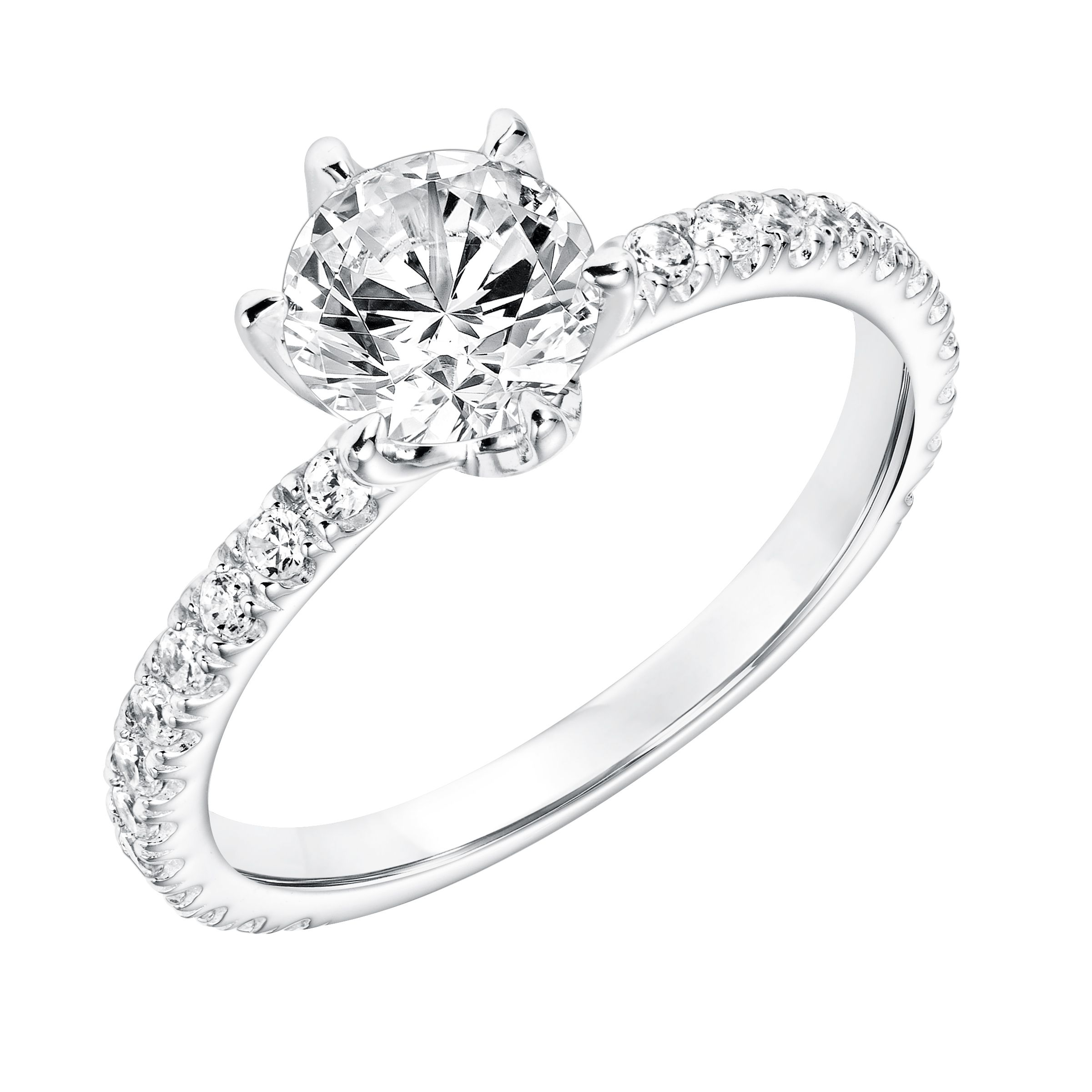 modern engagement ring from reiner s fine jewelry in houston
