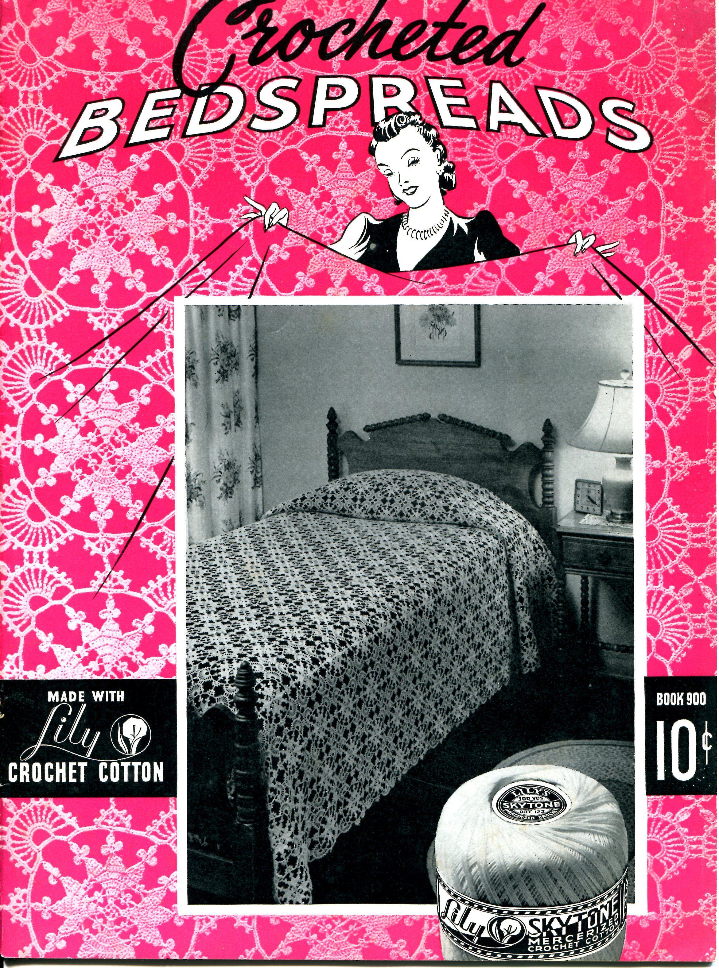 Lace Valentine Bedspread Book Cover
