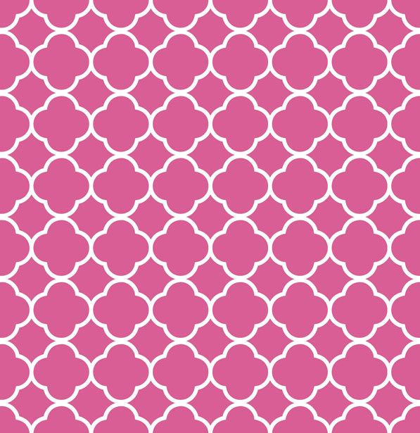 Pink Geometric Wallpaper Quatrefoil Pattern Background Pink Free Stock Photo Public Domain
