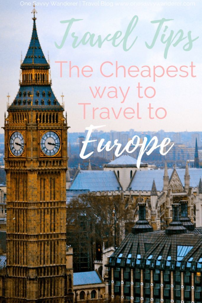 how to travel through europe cheaply