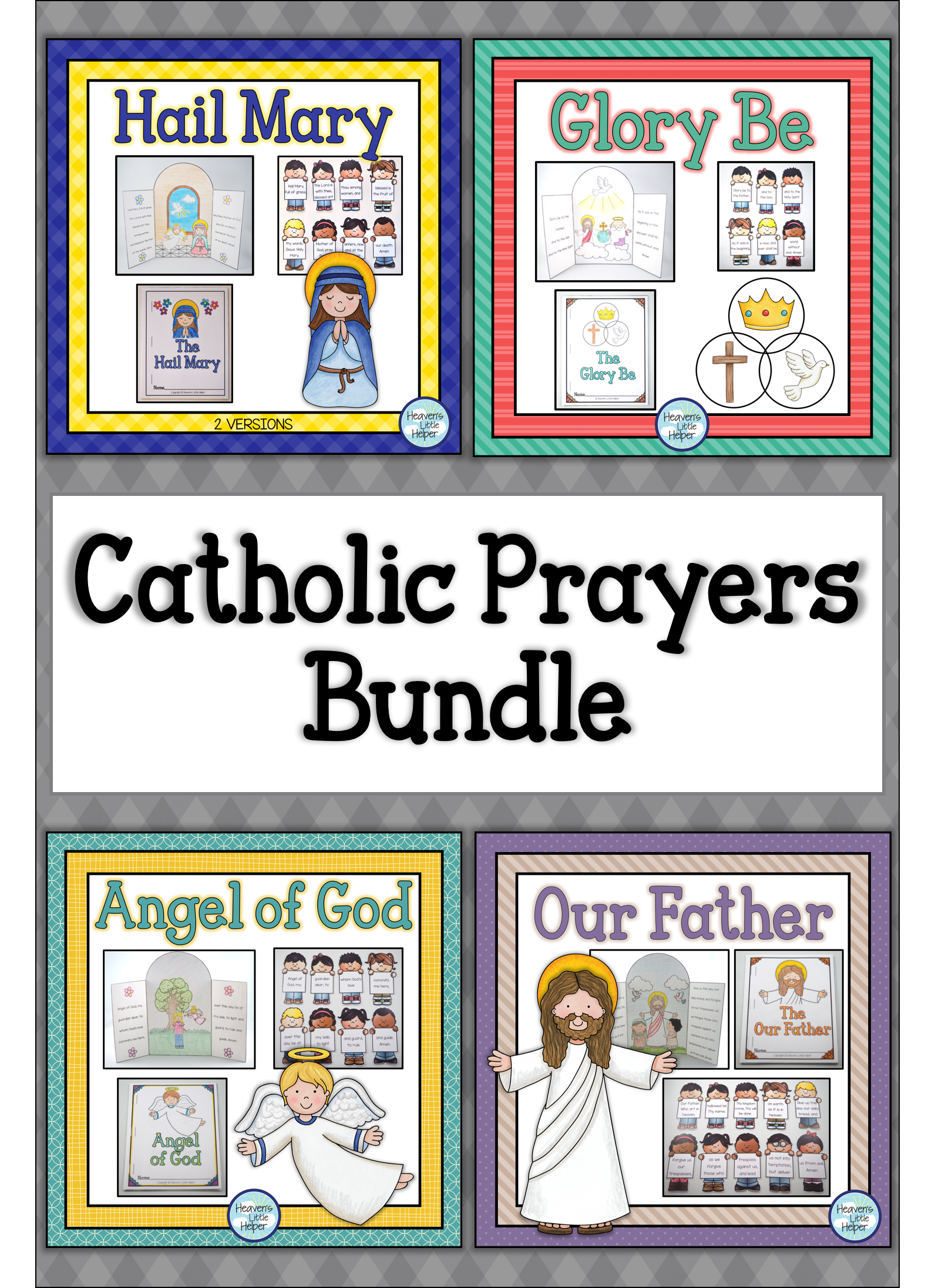 Catholic Prayers Bundle