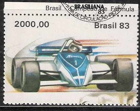 Stamps from Brasil