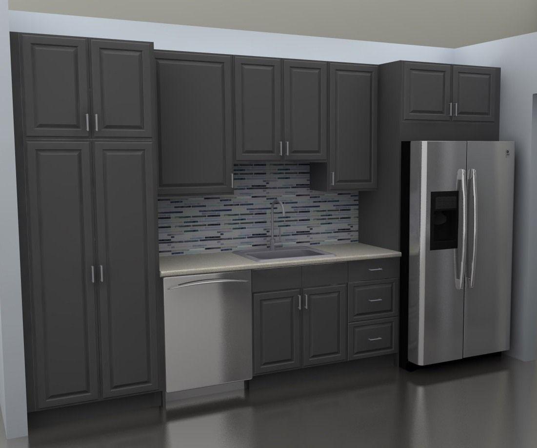 Best Ikea Kitchen Cabinets At Sink Wall Grey Kitchen Cabinets 400 x 300
