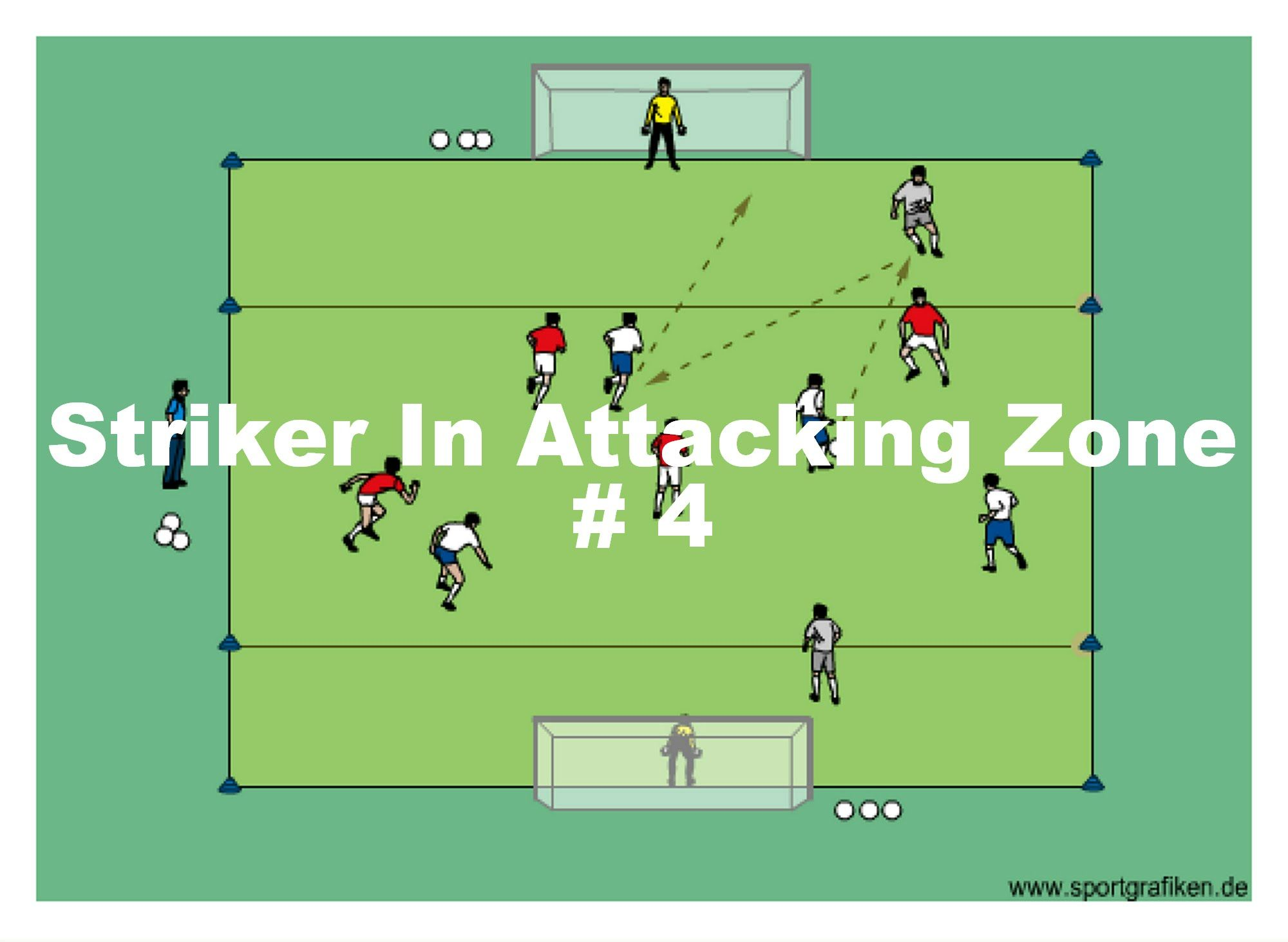 Soccer Striker Drills Soccer Drills Soccer Training Soccer Training Drills