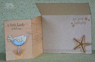 Tutton's Treasures Double Flap Card
