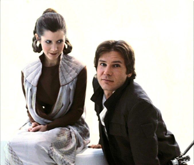 Leia And Han Solo With Images Star Wars Trilogy Star Wars