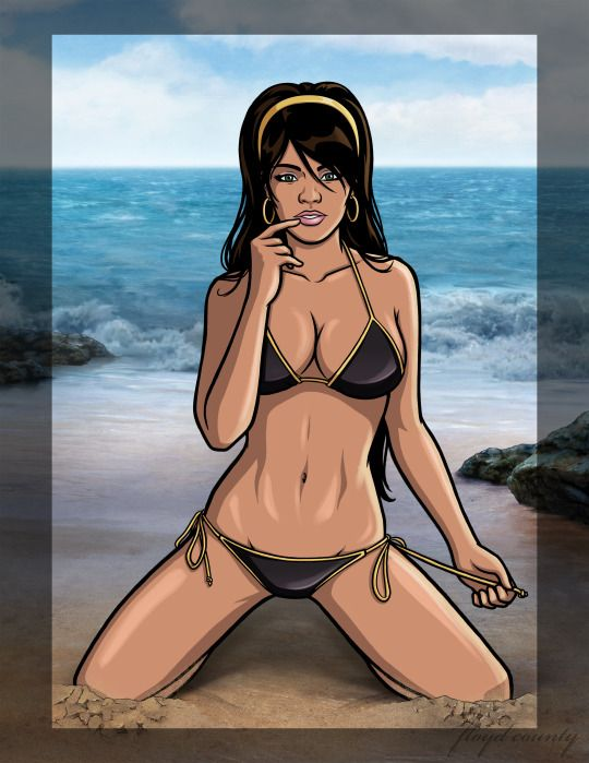 Archer characters nude girl — 6
