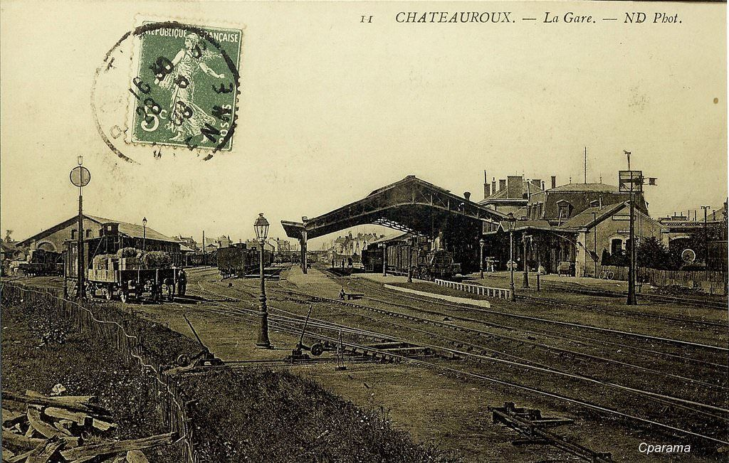 CHATEAUROUX (Indre)   Ville france, Carte postale, Paysage ville