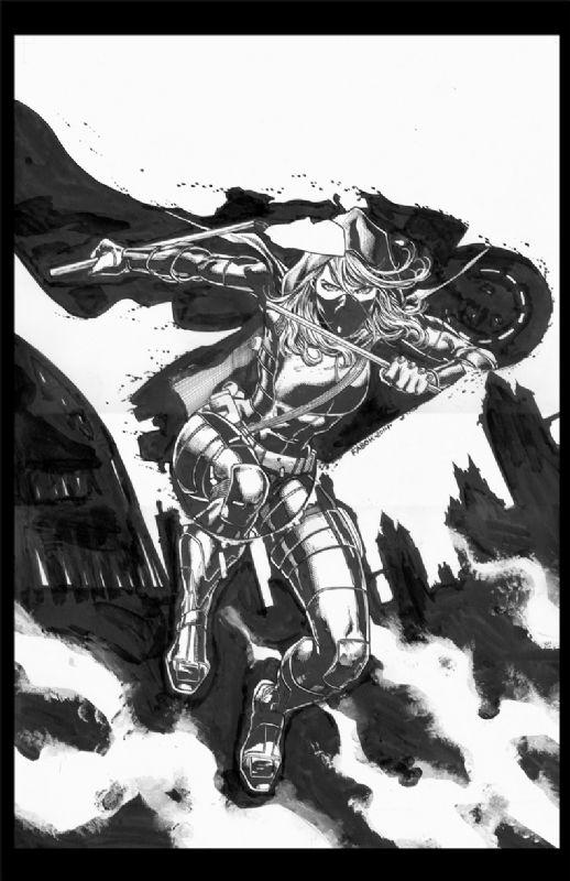 Batman Eternal 22 cover featuring Spoiler by Jason Fabok Comic Art
