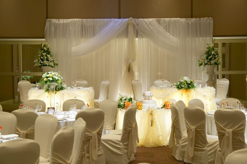 wedding reception decorations | Ideas For Wedding Reception Table ...