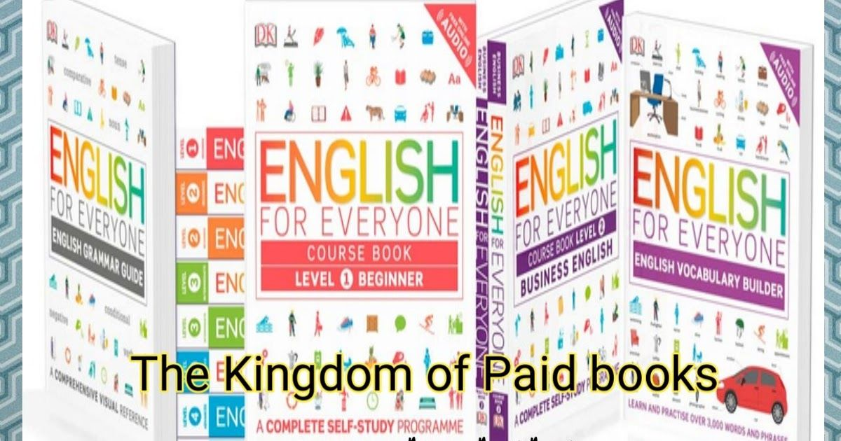 The English for everyone Grammar guide and Vocabulary builder of