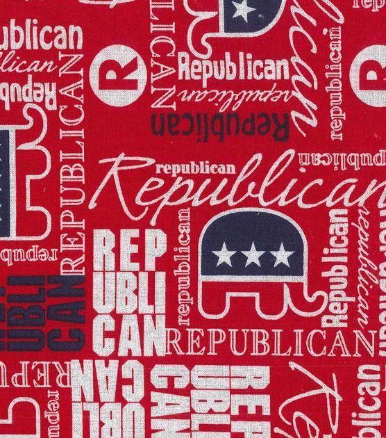 Holiday Inspirations Fabric Republican   Classroom   Fabric