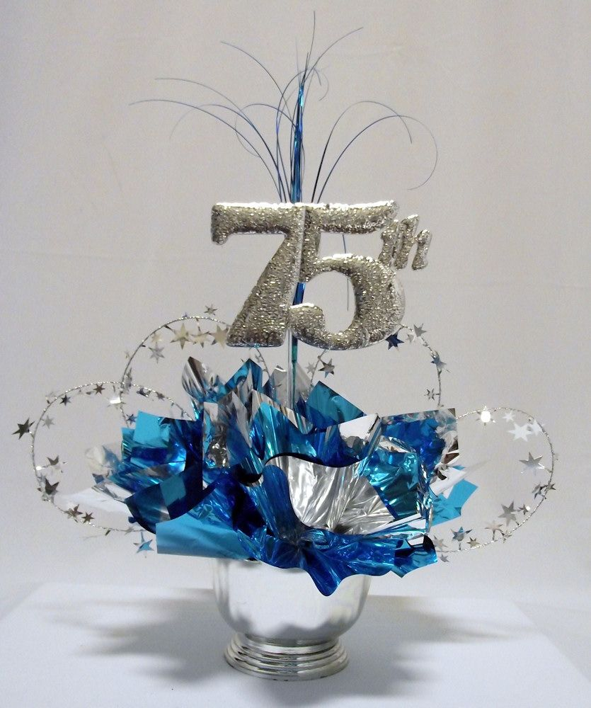 75th-Anniversary-Centerpiece.jpg (835×1000) | frozen party ideas ...