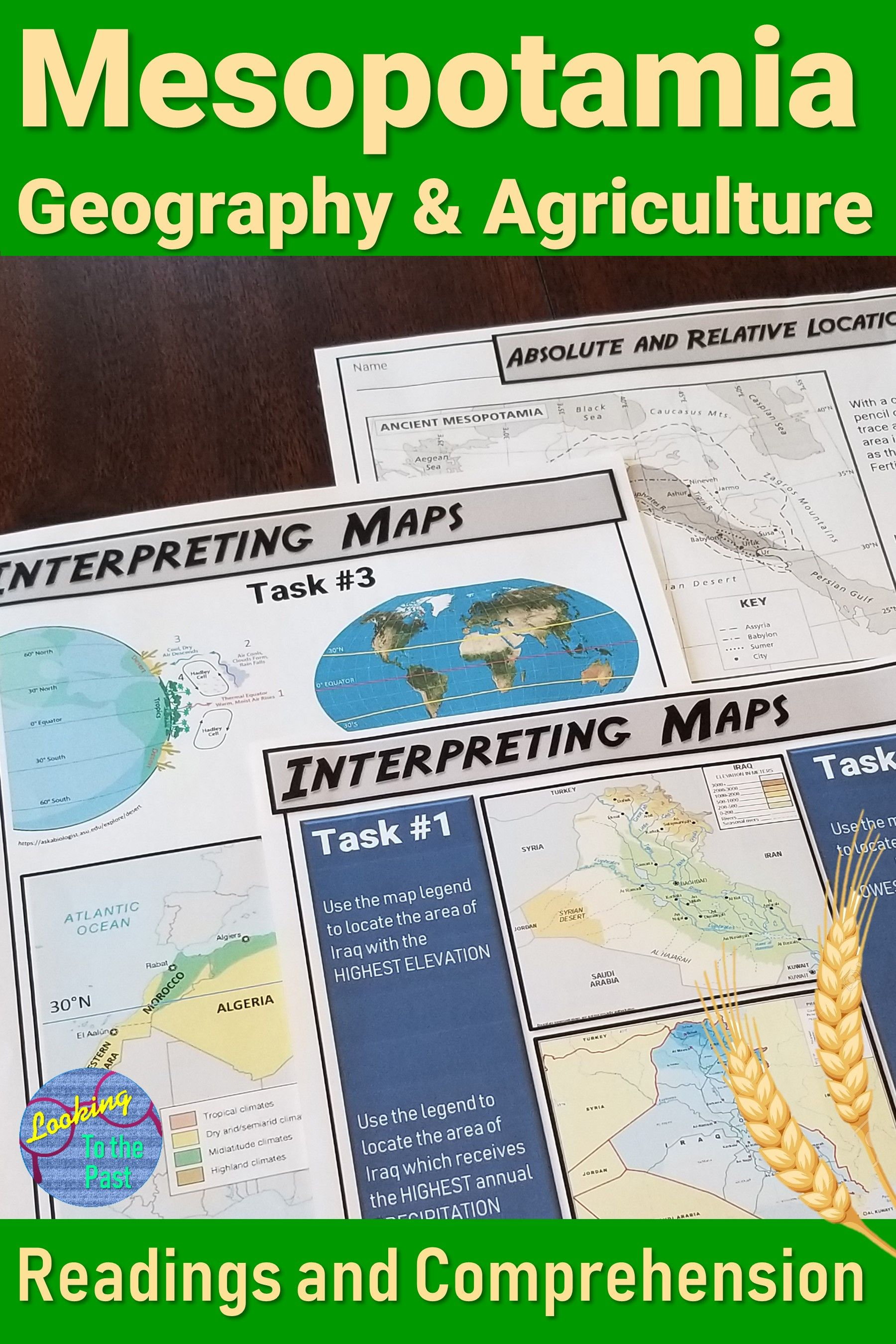 Teach Ancient Mesopotamia Geography And Agriculture To 6th