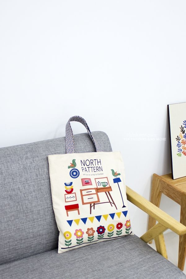 Patch-worked Illustrations (Fabric)
