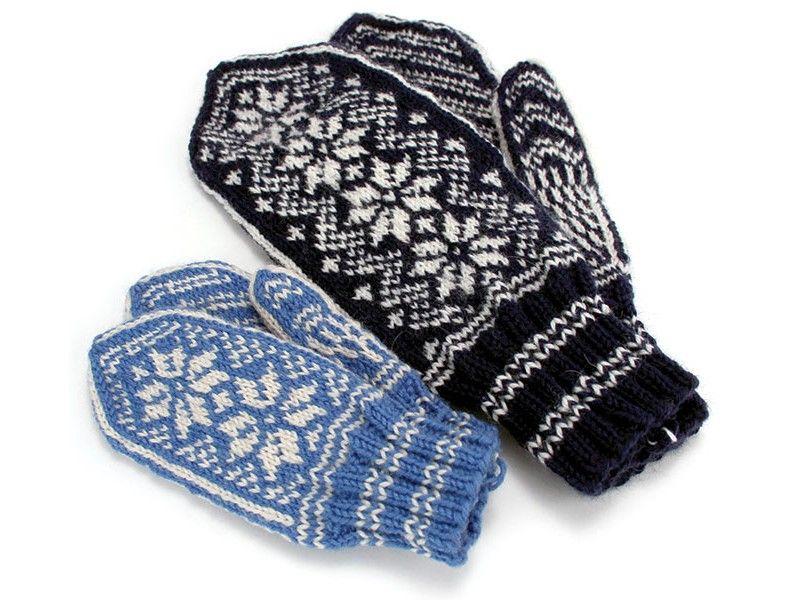 Norwegian Mitten Pattern | Mittens pattern, Knitted ...