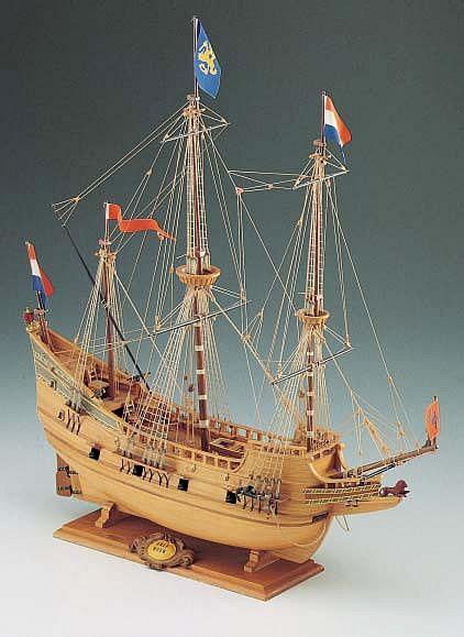 Half Moon Henry Hudson S Ship 1609 Model Ships In 2019