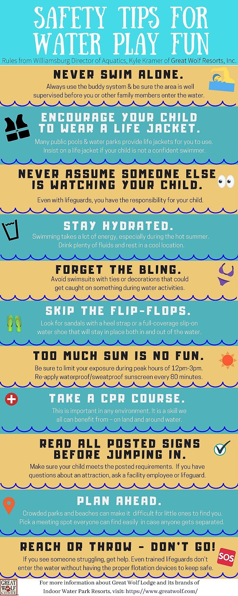 e79a17f5d35 Water Safety  11 Tips from Great Wolf Lodge  keep your family safe in the  pools