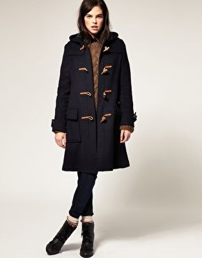 Gloverall Womens Duffle Coat | Down Coat