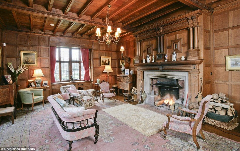 inside the incredible edwardian tudor style 11m mansion that has been in the same family for. Black Bedroom Furniture Sets. Home Design Ideas