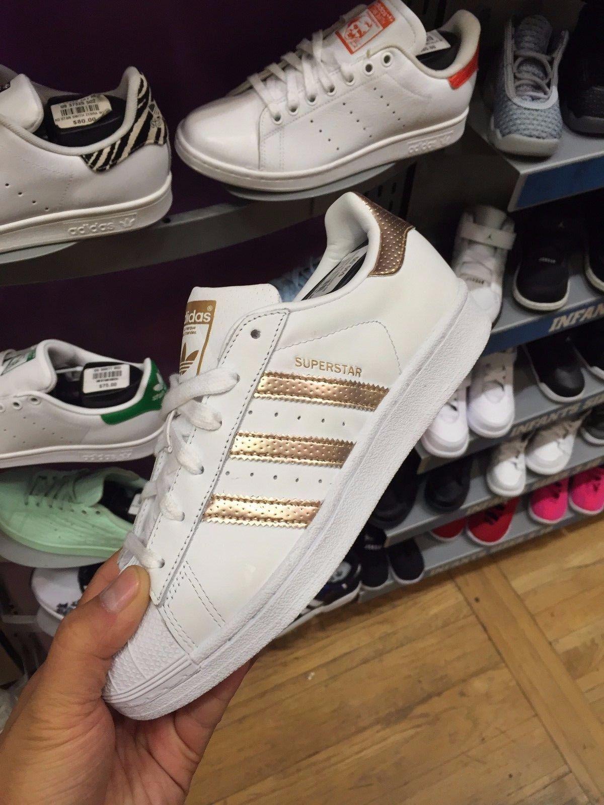 whisky Horizontal Eléctrico  Adidas Superstar White Copper Bb1428 Women Sizes | Zapatos, Zapato tenis,  Ropa
