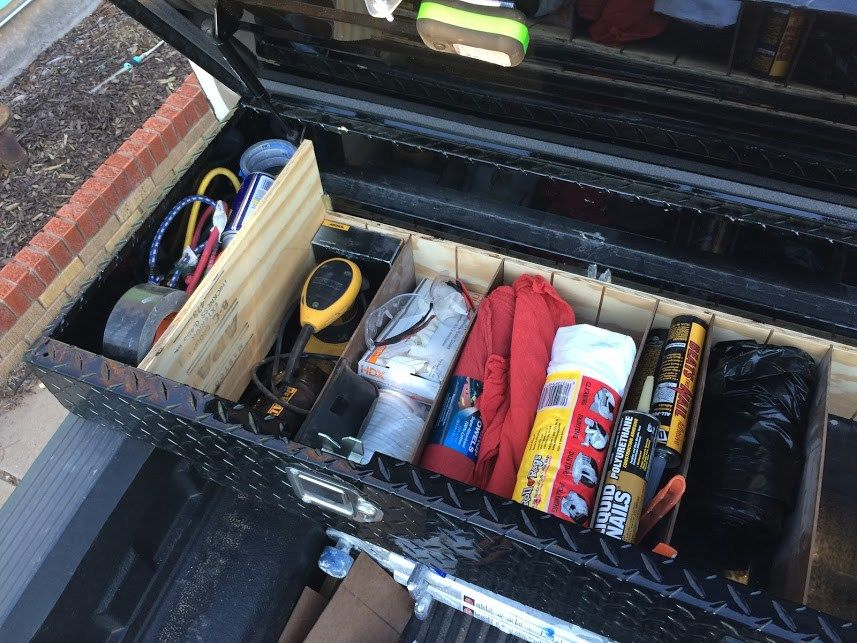 Get Your Tool Box Organized Truck toolbox organization