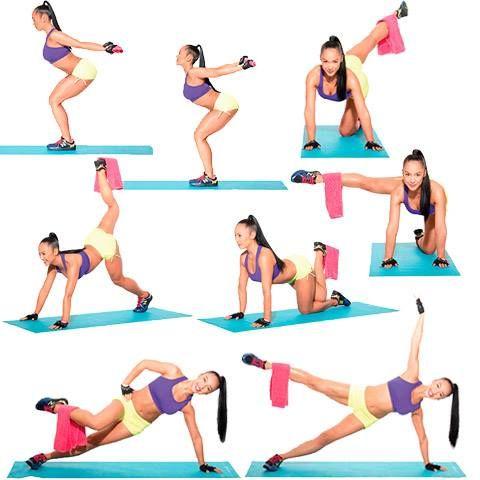 Ejercicios para piernas y gluteos deporte pinterest - Como hacer gimnasia en casa ...